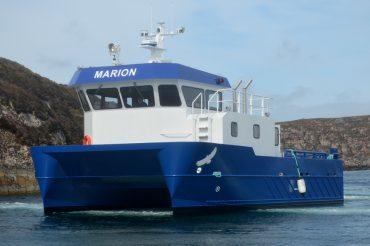 Norge får verdens første elektriske havbruksbåt – fra Ørnli Slipp